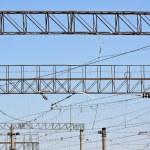 Railroad infrastructure — Stock Photo