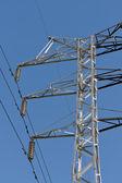 Power pylons — Stock Photo