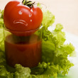 Stock Photo: Tomato. When tomatos cry...