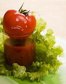 トマト。トマトが泣くとき... — ストック写真