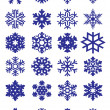 Snowflakes Collection — Stockvektor