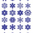 Snowflakes Collection - Stock Vector