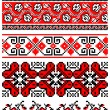 Ukrainiembroidery ornaments — Stock Vector #4808061
