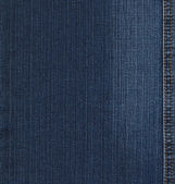 Blue jeans denim texture — Stock Photo