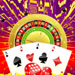 Abstract casino illustration - Lizenzfreies Foto