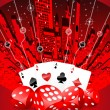 Stock Photo: Abstract gambling illustration