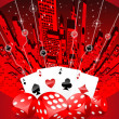 Abstract gambling illustration — Stock Photo