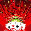 Abstract gambling design — Stock Photo #5272562