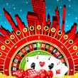 Abstract gambling city — Stock Photo #5272652