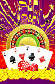 Abstract casino illustration — Stock Photo