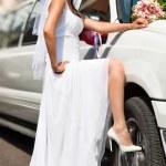 junge Braut — Stockfoto
