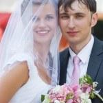 Hochzeitspaar — Stockfoto