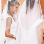 jeune mariée — Photo