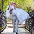 Young wedding couple — Stock Photo #4698108