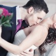 Young wedding couple — Foto de stock #4698273