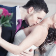 Young wedding couple - Foto Stock