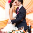 Young wedding couple — Stockfoto