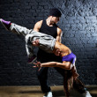 Dancer couple — Stock Photo