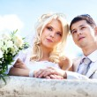 Young wedding couple — Stock Photo #5040361