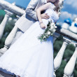 Stock Photo: Young couple wedding