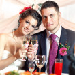 Young wedding couple — Stock Photo #5040451
