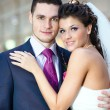 Young wedding couple — Stock Photo #5040453