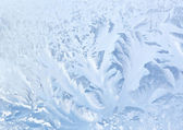 Frozen glass texture — Stock Photo