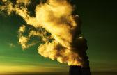 Toxic smoke — Stock Photo