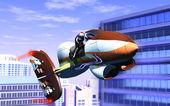 Air motorcycle — Stock Photo