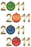 New year backgrounds — Stock Photo