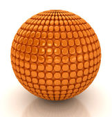 3d abstract sphere. — Stock Photo