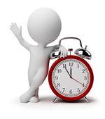 Pequeno 3d - relógio despertador — Foto Stock