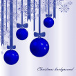 Royalty-Free Stock Vector Image: Christmas background with fur-tree spheres