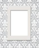Empty framework against wallpaper. eps10 — Stock Vector