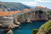 Dubrovnik'in tarihi kent, hırvatistan — Stok fotoğraf