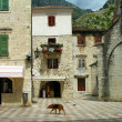 Kotor old town, Montenegro — Stock Photo