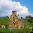 Old church in Vorokhta, Ukraine — Stock Photo