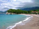 Beach near Budva in Montenegro — Stock Photo