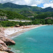 Stock Photo: Beach at Budva's riviera, Montenegro