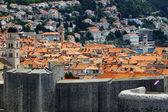 Dubrovnik'in tarihi kent merkezine — Stok fotoğraf