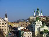 Andriyivsky uzviz, kiev, ucrania — Foto de Stock
