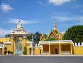 Royal Palace complex, Phnom Penh, Cambodia — Stock Photo