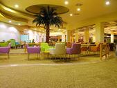 Hotel lobby — Stock Photo