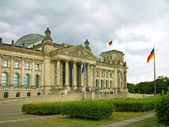Reichstag building (German parliament), Berlin — Stock Photo