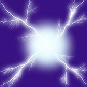 Elektrický výboj — Stock fotografie