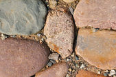 Stenen pad achtergrond — Stockfoto