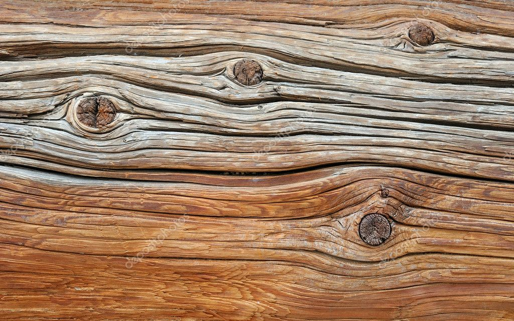 Weathered textured obsolete rough wooden background — Stock Photo #4192423