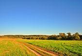 De caminos rurales — Foto de Stock