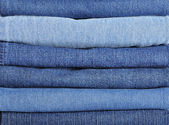 Jeans stack background — Стоковое фото