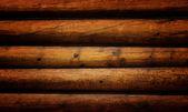 Grunge wooden logs — Stock Photo